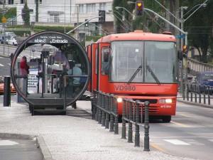 BRT Station Curitiba Brazil
