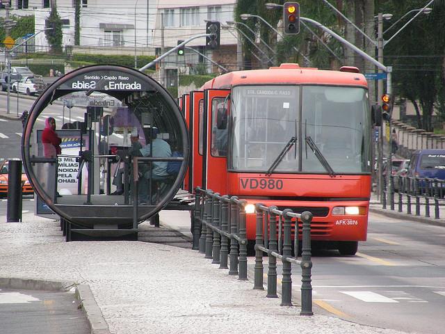 Curitiba Bus Rapid Transit photo