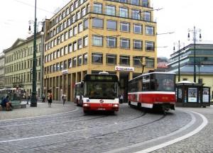 Prague Public Transport Lane (2010)