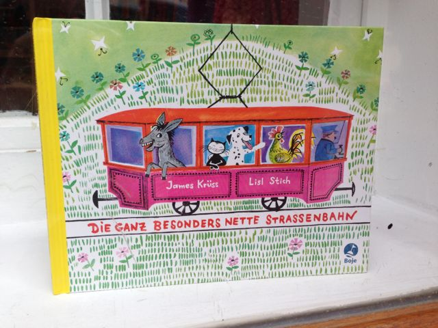 Sounds like a great book: Die Ganz Besonders Nette Strassenbahn ... English: A totally especially nice tram.