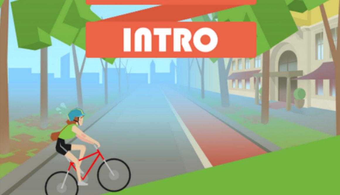 Ring Ride Game screenshot showing website link button.