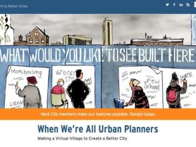 "Illustration from ""When We're All Urban Planners"" in Next City."