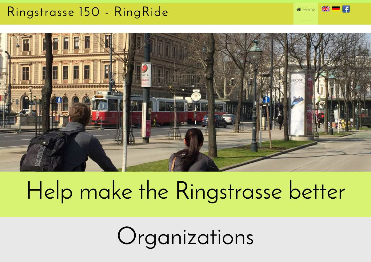 Ringstrasse150 Website Screenshot