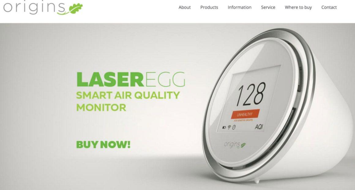 Laser Egg screenshot from Origins website.
