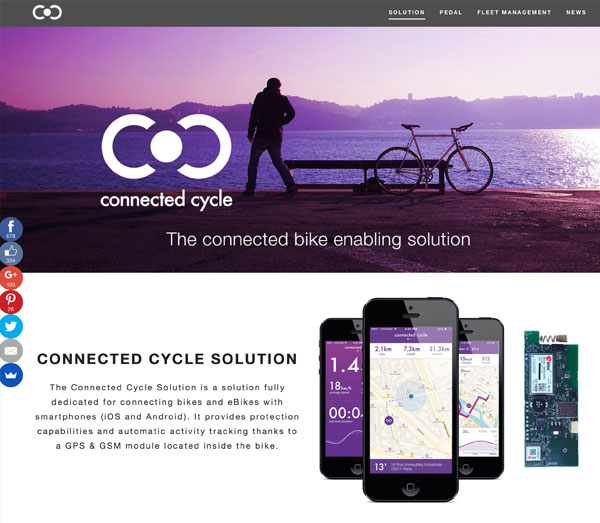 Screenshot: Connected Cycle