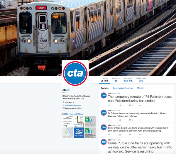 Screenshot: Twitter - @cta