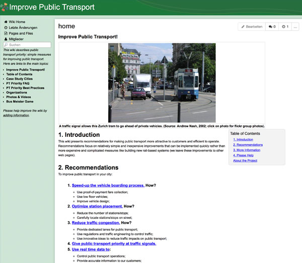 Screenshot: Improve Public Transport Wiki