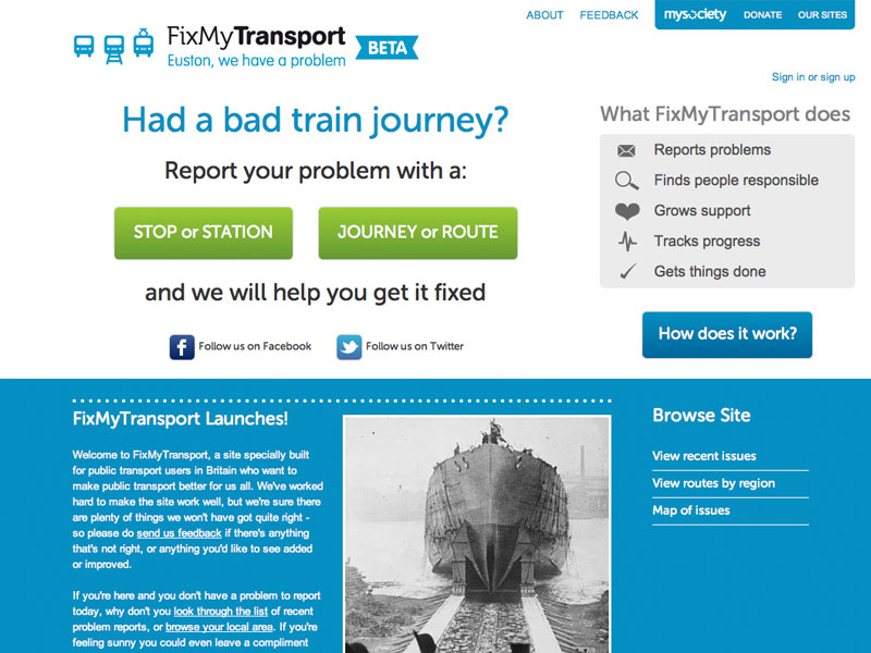 Crowdsourced Transport: Report