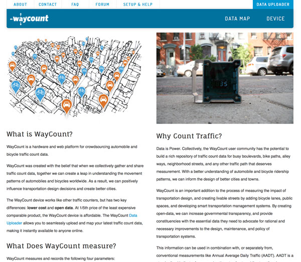 Screenshot: WayCount