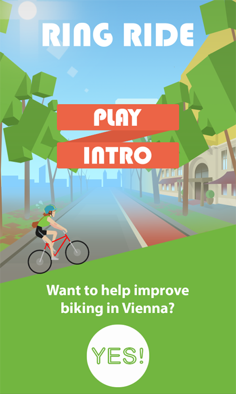 Screenshot RingRide game