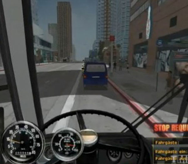 Screenshot: City Bus Simulator Game