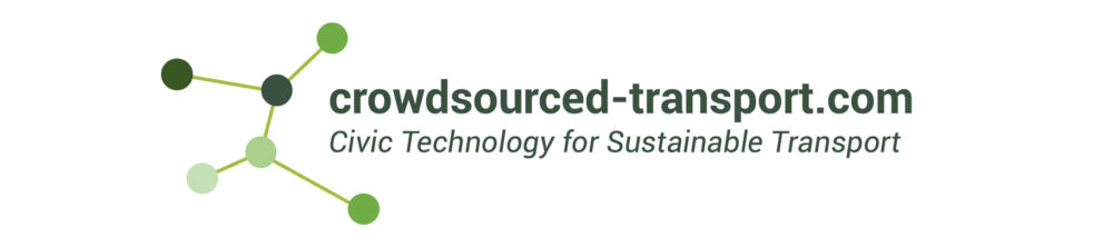 crowdsourced-transport.com - Civic Technology for Sustainable Transport