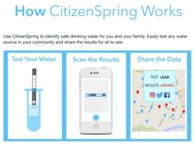 Crowdsourcing Clean Drinking Water
