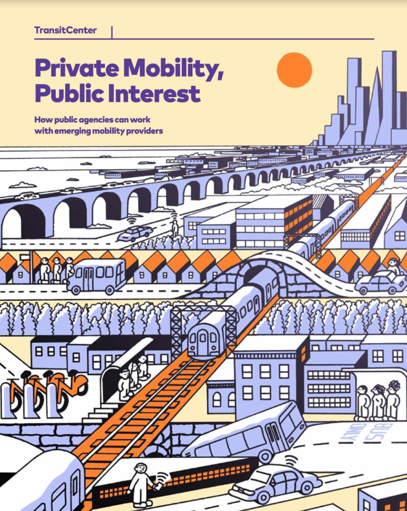 Screenshot: Transit Center: Private Mobility, Public Interest