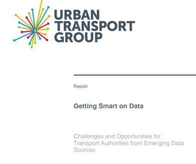 Urban Transport Group report on data, December 2016.