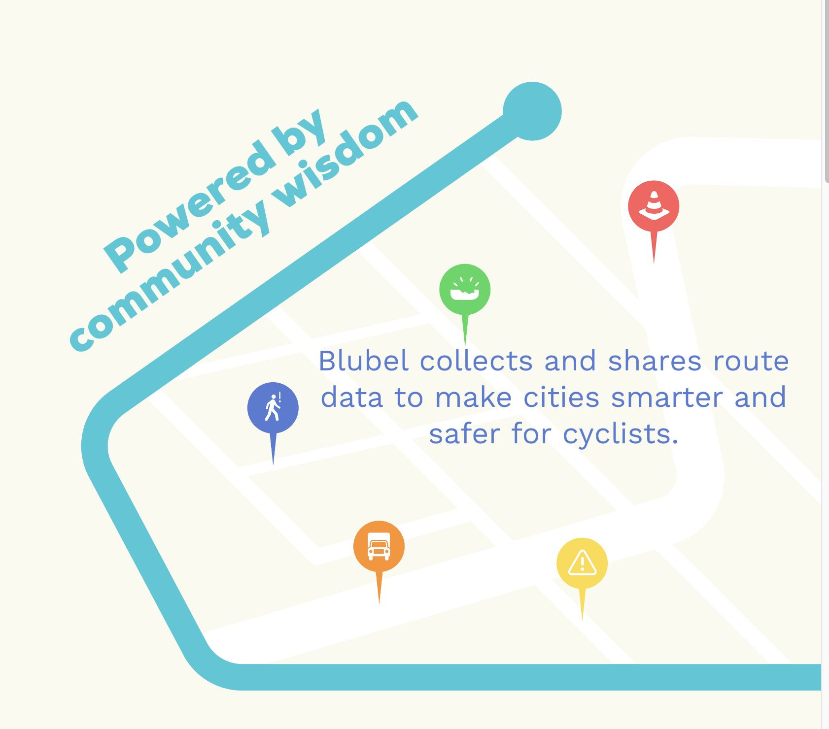 Screenshot: Blubel bicycle bell
