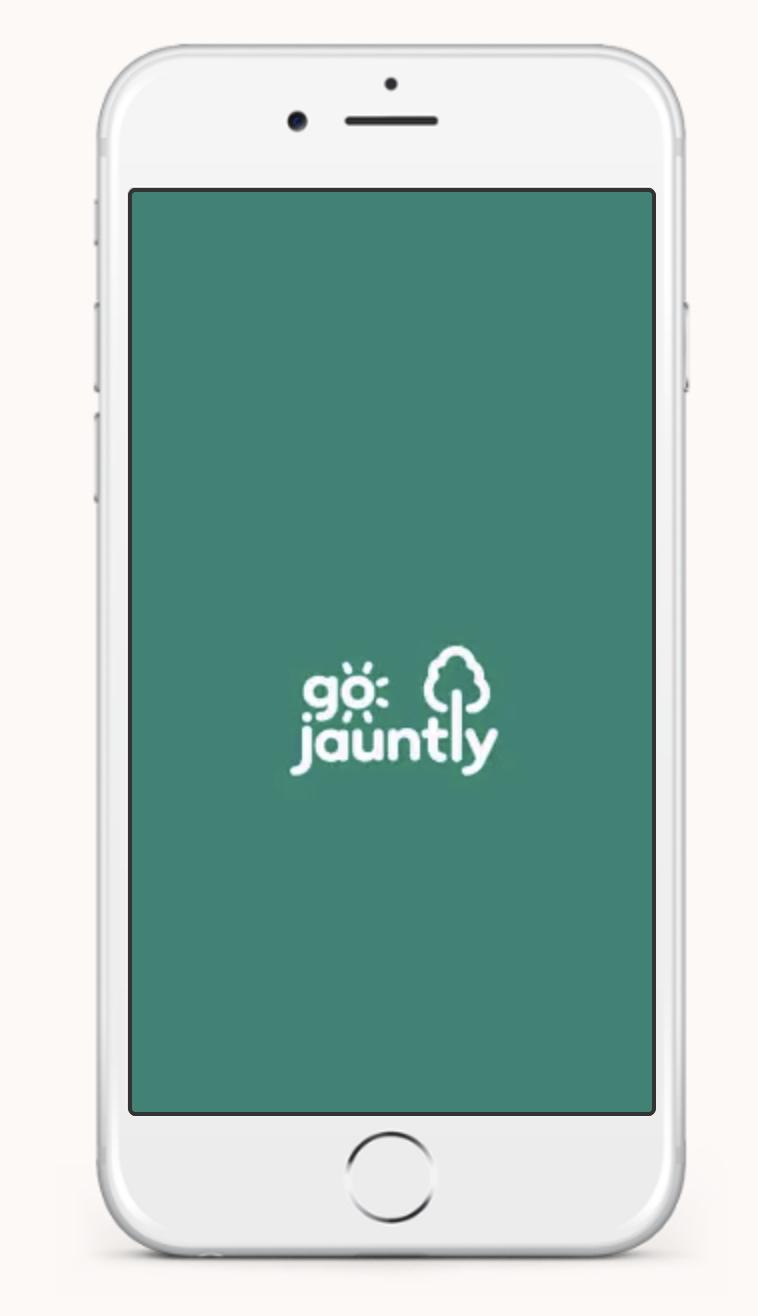 Go Jauntly app