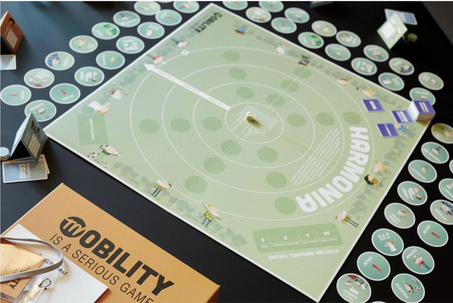 Mobility is a Serious Game board game