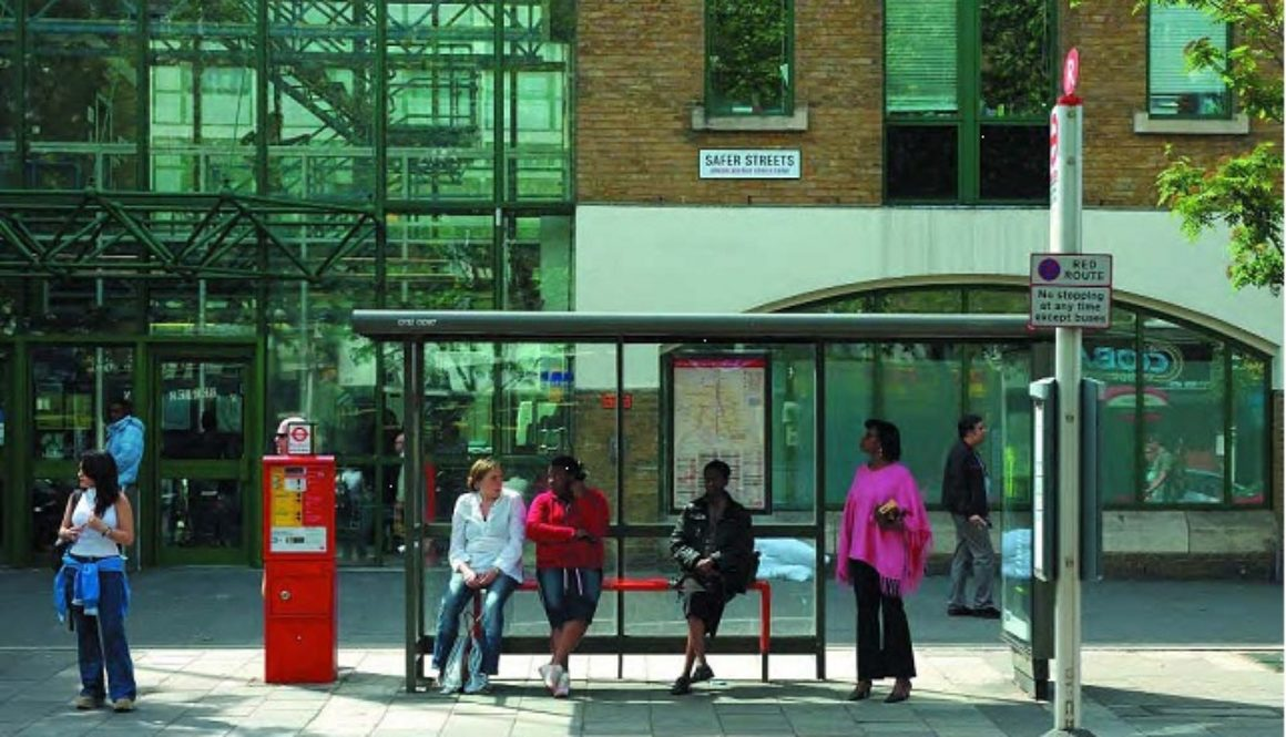 London: Enhanced Bus Stop
