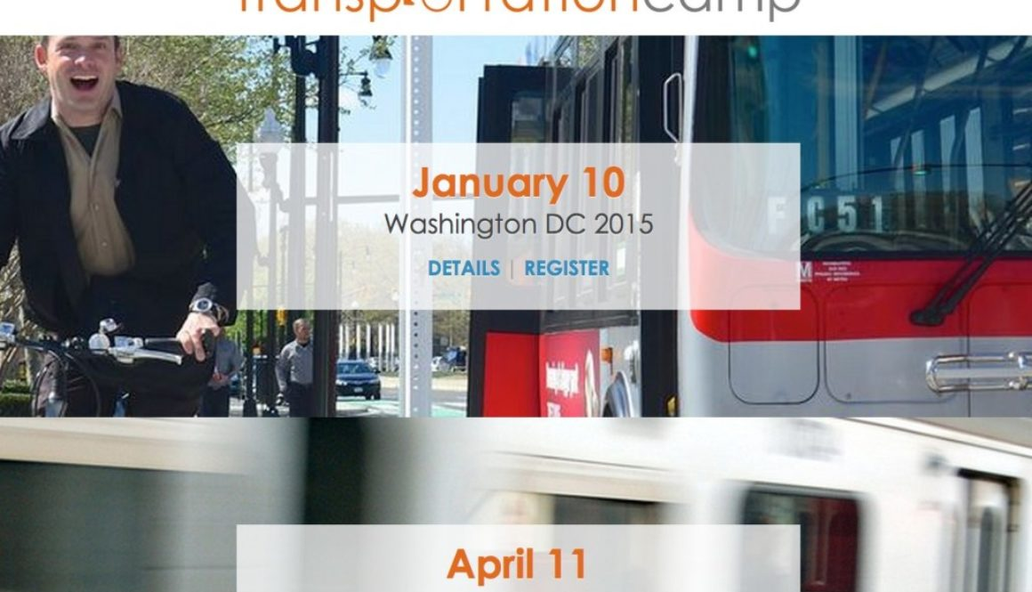Transportation Camp website screenshot - November 2014