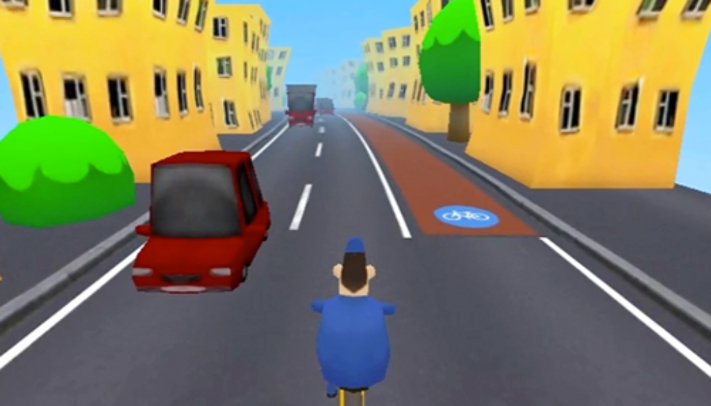 Grr-Grr-Bike helps players become engaged in bike planning.