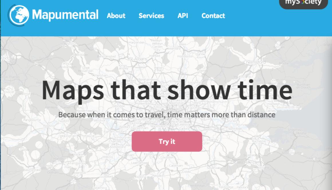 Mapumental homepage
