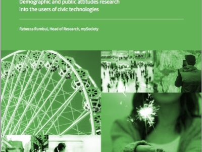 mySociety - Who benefits from civic technology 2015 cover